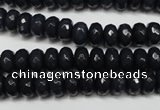 CCN2113 15.5 inches 5*8mm faceted rondelle candy jade beads