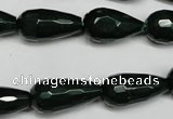 CCN2146 15.5 inches 10*20mm faceted teardrop candy jade beads