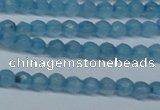 CCN2814 15.5 inches 3mm tiny faceted round candy jade beads
