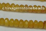 CCN2852 15.5 inches 2*4mm faceted rondelle candy jade beads