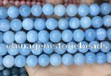 CCN5003 15.5 inches 8mm & 10mm round candy jade beads wholesale