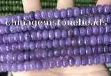CCN5146 15 inches 5*8mm faceted rondelle candy jade beads