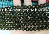 CCN5423 15 inches 8mm round candy jade beads Wholesale