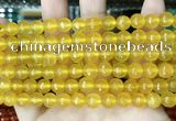 CCN5707 15 inches 8mm faceted round candy jade beads