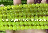 CCN6101 15.5 inches 6mm round candy jade beads Wholesale