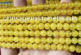 CCN6105 15.5 inches 6mm round candy jade beads Wholesale