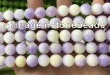 CCN6193 15.5 inches 10mm round candy jade beads Wholesale