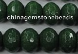 CCN954 15.5 inches 14*18mm faceted rondelle candy jade beads