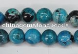 CCO164 15.5 inches 12mm round dyed natural chrysotine beads