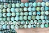 CCO362 15.5 inches 8mm round natural chrysotine gemstone beads