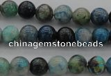 CCS20 15.5 inches 6mm round natural chrysocolla gemstone beads