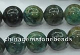 CCS754 15 inches 12mm round chrysocolla gemstone beads wholesale