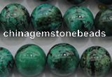 CCS802 15.5 inches 8mm round natural Chinese chrysocolla beads