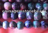 CCS850 15.5 inches 4mm round natural chrysocolla beads wholesale