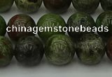 CDB303 15.5 inches 10mm round dragon blood jasper beads wholesale
