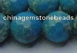 CDE2554 15.5 inches 24mm faceted round dyed sea sediment jasper beads