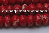 CDE2622 15.5 inches 15*20mm rondelle dyed sea sediment jasper beads
