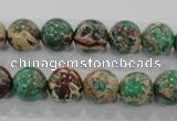 CDI853 15.5 inches 10mm round dyed imperial jasper beads wholesale