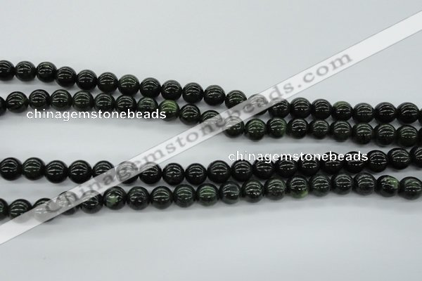 CDJ140 15.5 inches 8mm round Canadian jade beads wholesale