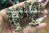 CDN497 35*50mm angel dalmatian jasper decorations wholesale