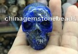 CDN560 35*50*40mm skull lapis lazuli decorations wholesale