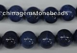 CDU104 15.5 inches 12mm round blue dumortierite beads wholesale