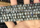 CEE510 15.5 inches 6mm round eagle eye jasper beads