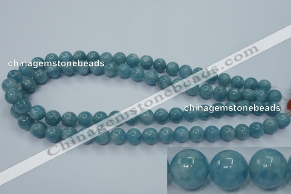 CEQ04 15.5 inches 10mm round blue sponge quartz beads wholesale
