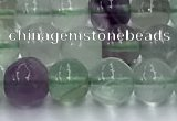 CFL1135 15.5 inches 6mm round fluorite beads wholesale