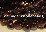 CGA488 15.5 inches 4mm - 5mm nuggets natural red garnet beads
