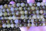 CGA701 15.5 inches 8mm round green garnet beads wholesale