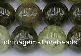 CGA713 15.5 inches 10mm round natural green garnet gemstone beads