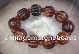 CGB3015 7.5 inches 16*20mm pumpkin agate bracelet wholesale