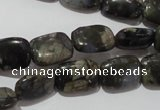 CGE158 15.5 inches 10*14mm rectangle glaucophane gemstone beads