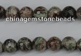 CGG02 15.5 inches 8mm faceted round ghost gemstone beads wholesale