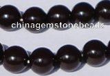 CGL900 5PCS 16 inches 12mm round heated glass pearl beads wholesale