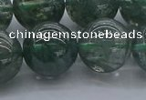 CGQ507 15.5 inches 18mm round imitation green phantom quartz beads