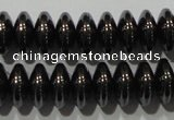 CHE108 15.5 inches 5*8mm rondelle hematite beads wholesale