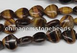 CHG20 15.5 inches 10*10mm heart yellow tiger eye beads wholesale