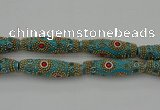CIB650 16*60mm rice fashion Indonesia jewelry beads wholesale
