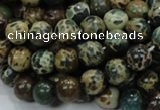CIJ02 15.5 inches 10mm round impression jasper beads wholesale