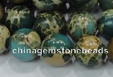 CIJ05 15.5 inches 16mm round impression jasper beads wholesale