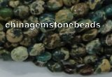 CIJ10 15.5 inches 6*8mm oval impression jasper beads wholesale