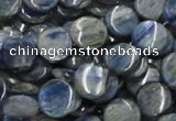 CKC01 16 inches 18mm flat round natural kyanite beads wholesale