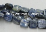 CKC04 16 inches 8*8mm square natural kyanite beads wholesale