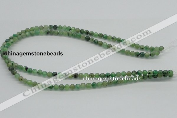 CKC101 16 inches 6mm round natural green kyanite beads wholesale
