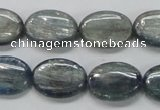 CKC207 15.5 inches 13*18mm oval natural kyanite beads wholesale