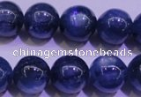 CKC425 15.5 inches 9.5mm round AAA grade natural blue kyanite beads
