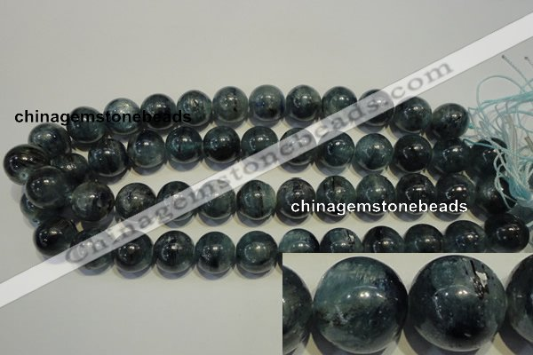 CKC456 15.5 inches 16mm round natural kyanite beads wholesale