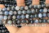 CKC752 15.5 inches 8mm round blue kyanite beads wholesale